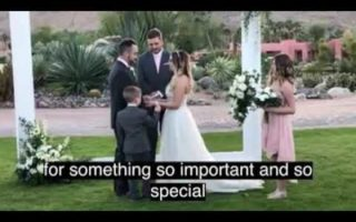 Jubal Shares His Vows